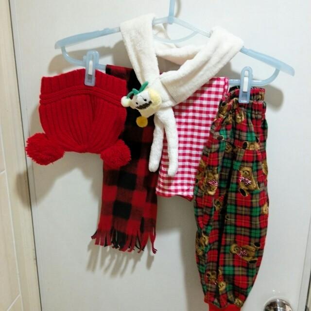 保暖帽子及圍巾等配件