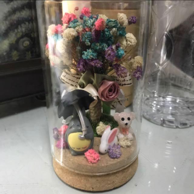 龍貓乾燥花