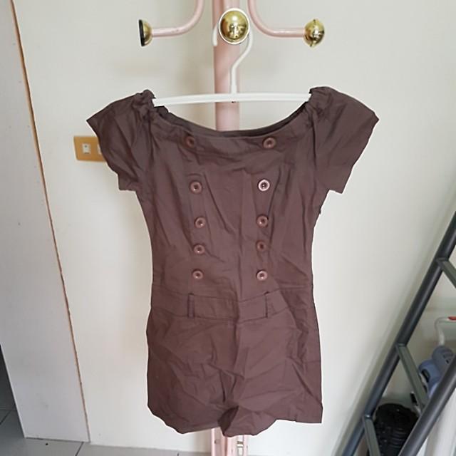 百貨公司排扣洋裝#大掃除五折