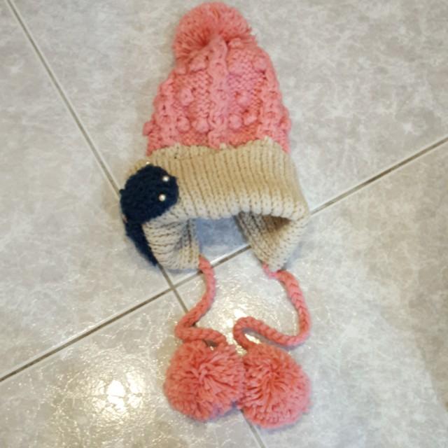 賞雪禦寒 造型毛帽