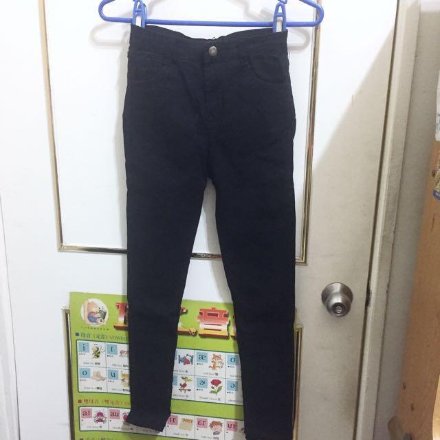 黑色彈性牛仔褲 #大掃除五折