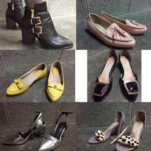 二手 精品高根鞋 便鞋 #手滑買太多