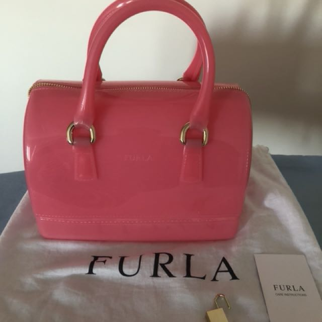 💯 % authentic Furla Candy Bag
