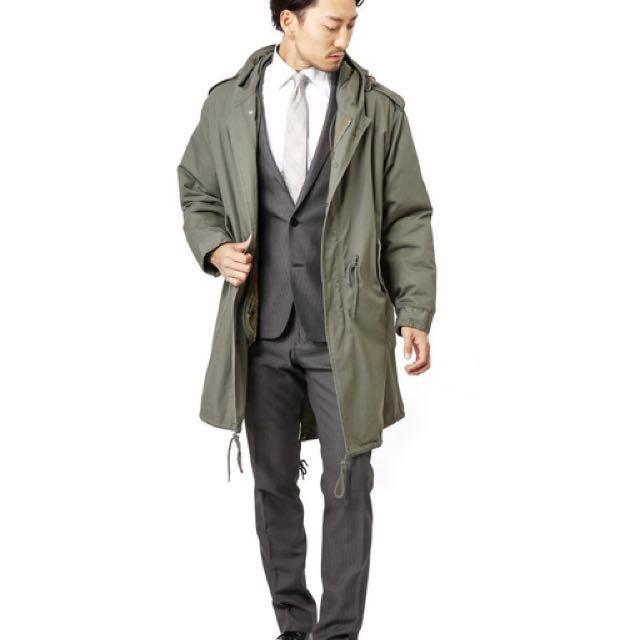 日本品牌 Houston M-51 復刻經典軍大衣