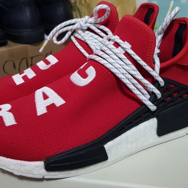 adidas nmd hu razza red taglia, moda maschile, le calzature per carousell