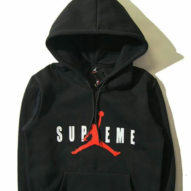 huge discount 48c28 bab4c Air Jordan Supreme Hoodie , Men s Fashion, Clothes on Carousell