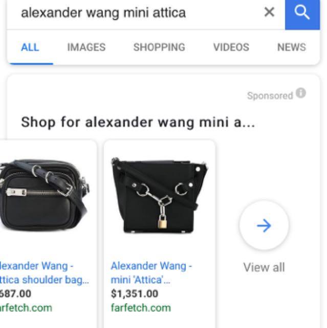 ALEXANDER WANG Mini Attica Crossbody