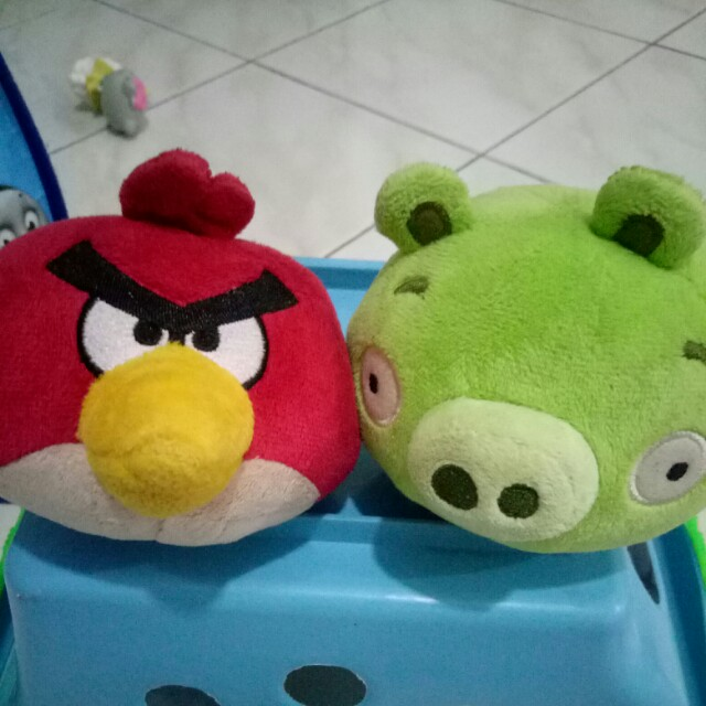 Boneka Angry birds & Piggy