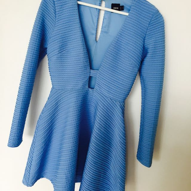 Asos blue  Dress Size Small