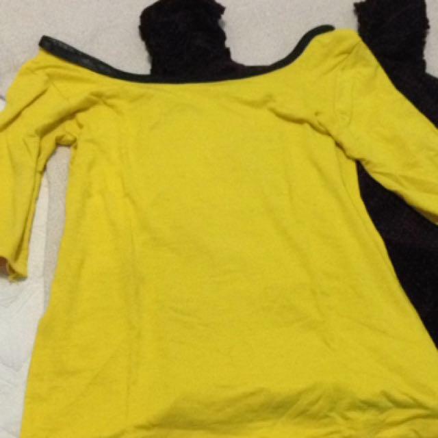atasan kuning