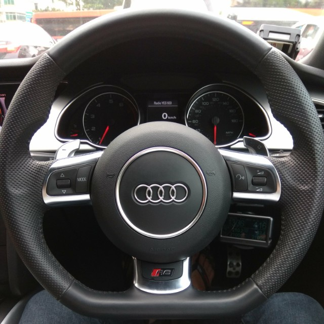 Audi R8 A5 A4 Compatible Steering Wheel With Airbag Car Accessories