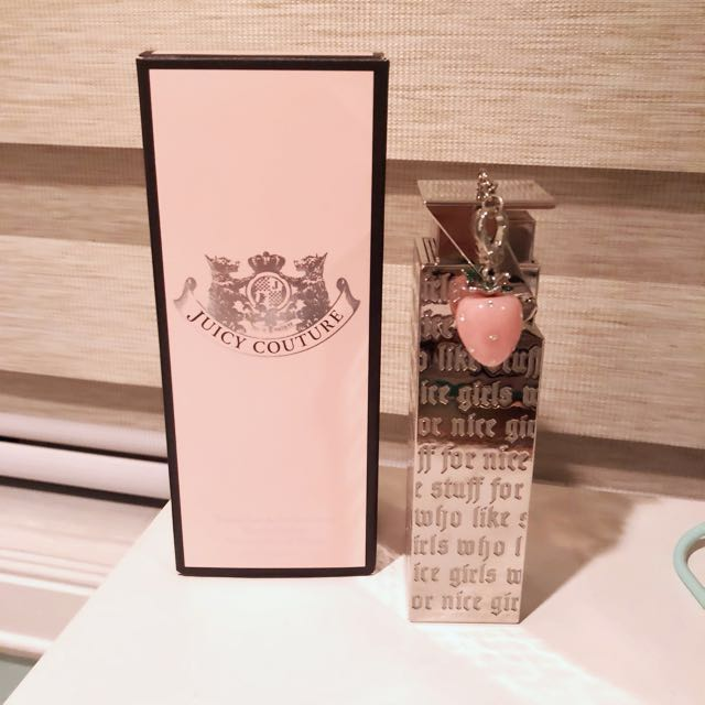 Authentic Juicy Couture Perfume w/ Strawberry Charm  1 fl. oz.