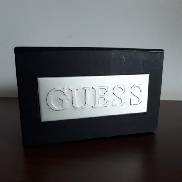 BAGUS NI! GUESS WATCH BOX 11 x 9 x 7