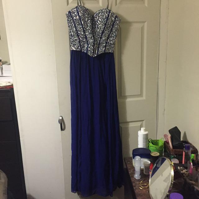 Beautiful Royal Blue Dress