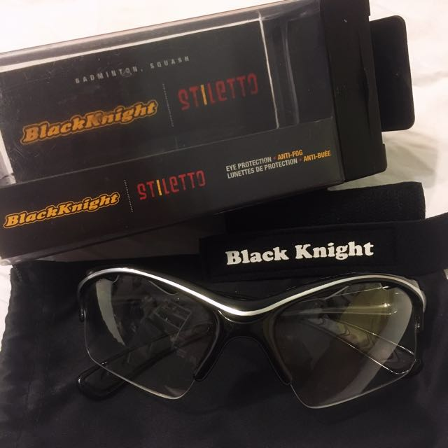 Black Knight Badminton/Squash Goggles