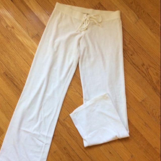 BNWOT Juicy Couture White Pants Sz M