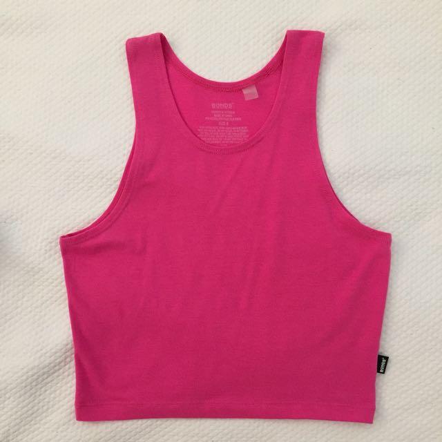 Bonds pink top
