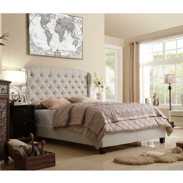 BRAND NEW Felisa Upholstered Panel Bed