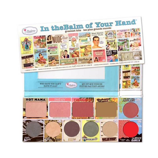 BRAND NEW The Balm In The Balm Of Your Hand Palette