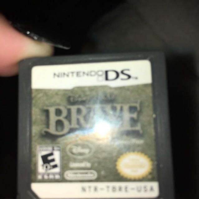 Brave video game for Nintendo 2DS/3DS