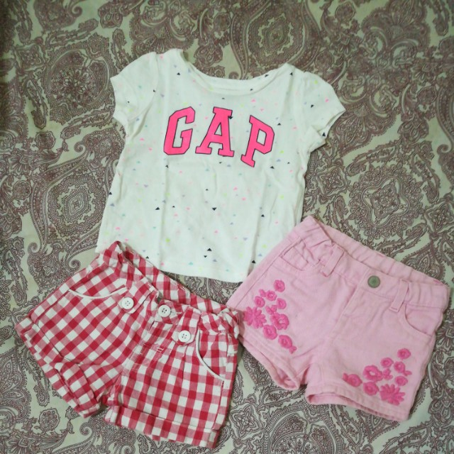 Bundle 2 shorts and Shirt