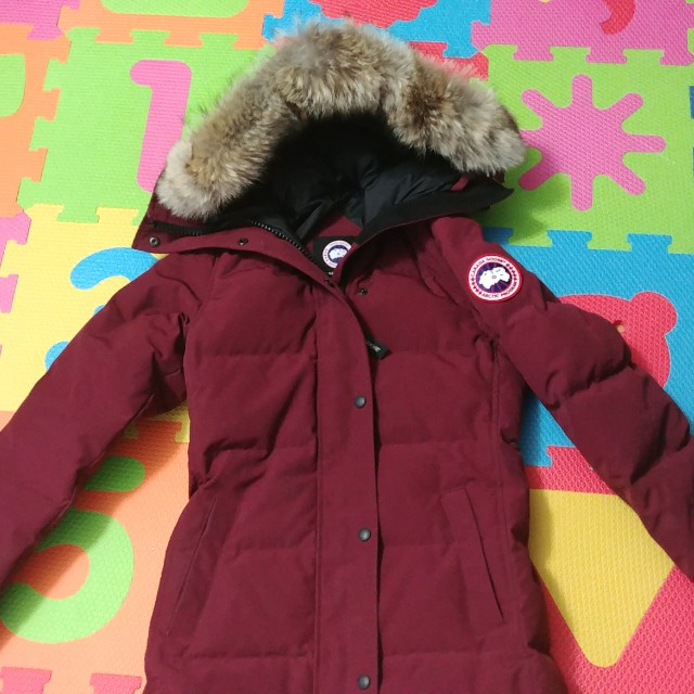 Canada Goose Shelbourne Red wine Parka XXS