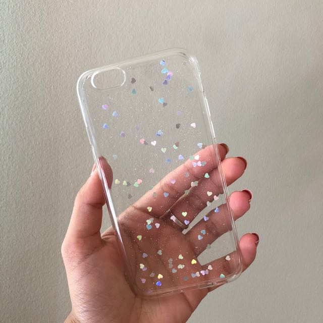 Clear heart case - IPHONE 6/6S