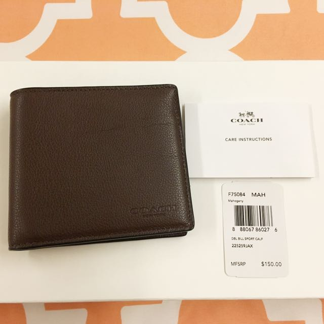 Coach Dark Brown Wallet