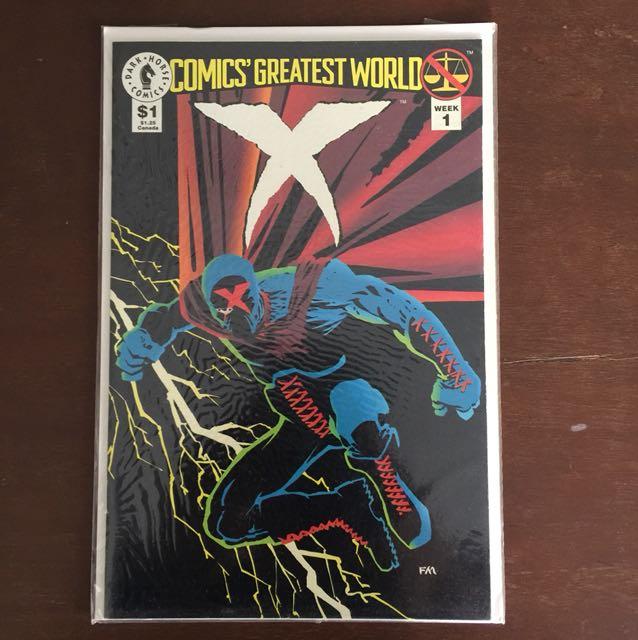 Comics Greatest World X #1