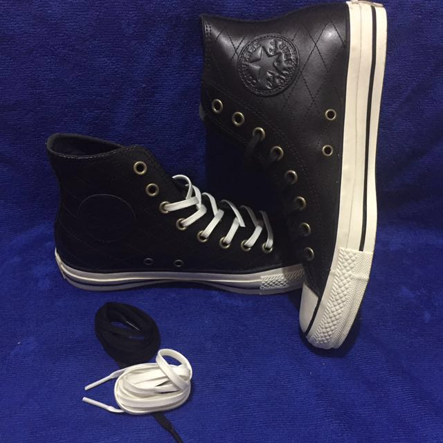 Converse(ALL⭐️STAR)真皮高筒鞋-全黑