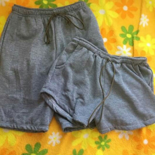 Couple sweat short
