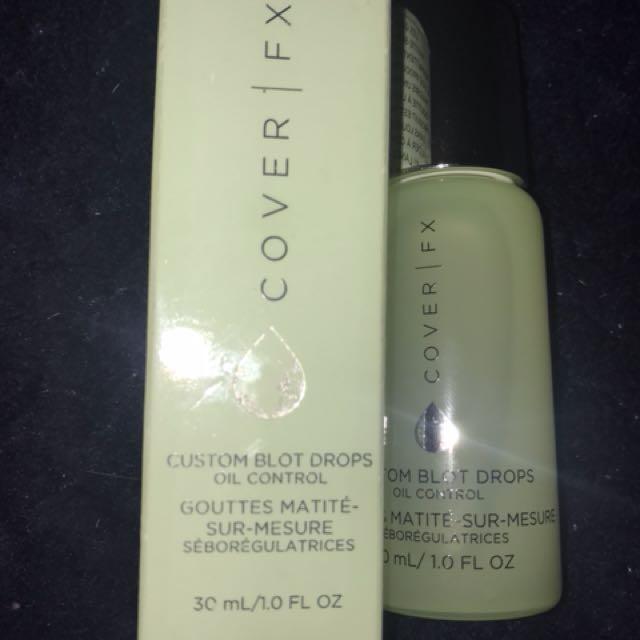 Cover FX Custom Blot Drops, NARS Radiant Creamy concealer in Vanilla