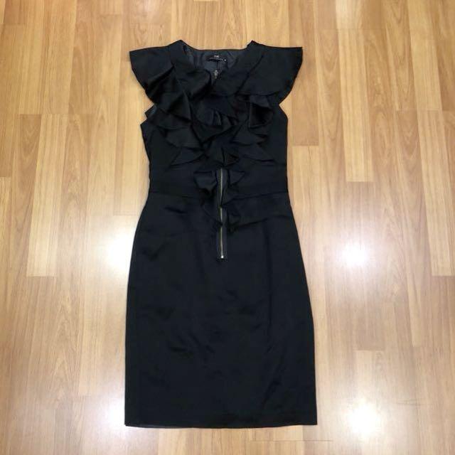 Cue Black Dress
