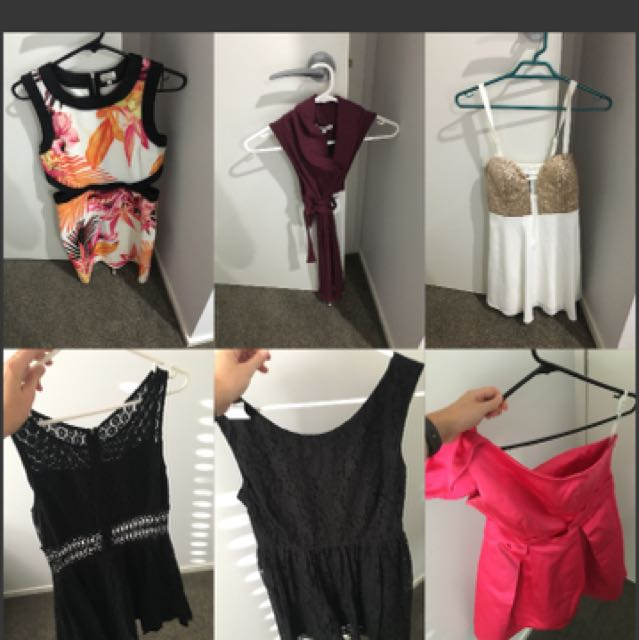 Dresses and Tops for sale size 10-12