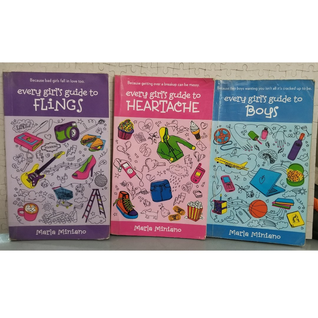 Every Girl's Guide Book Set by Marla Miniano