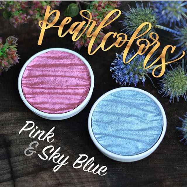 Finetec Colours: Pink & Sky blue