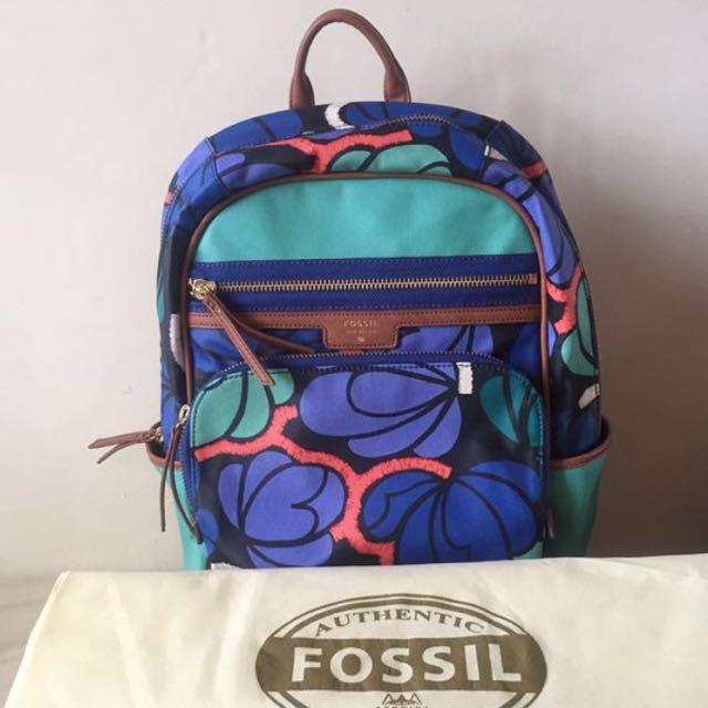 Fossil Backpack/Ransel/Tas/Bag