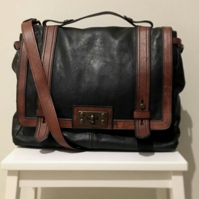 Fossil Postman Leather Bag