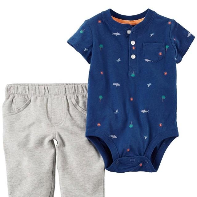 10275edb3d3d FreeMail  24M BN Carters Baby Boys  Bodysuit Pants Set  15