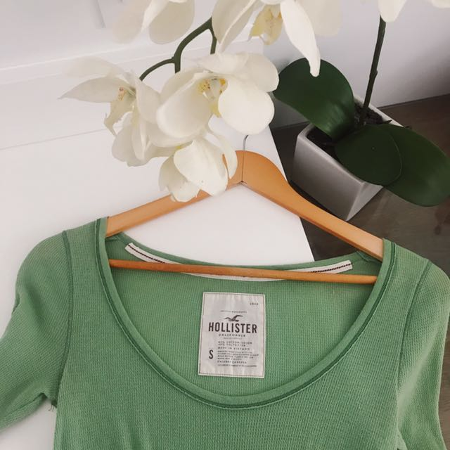 Green Hollister Shirt