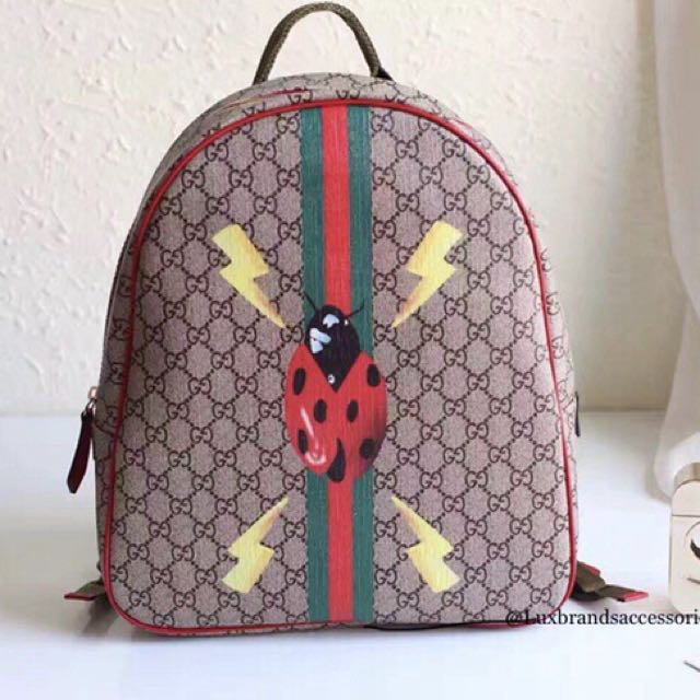 3be0caad69d3 Gucci backpack ladybug on Carousell