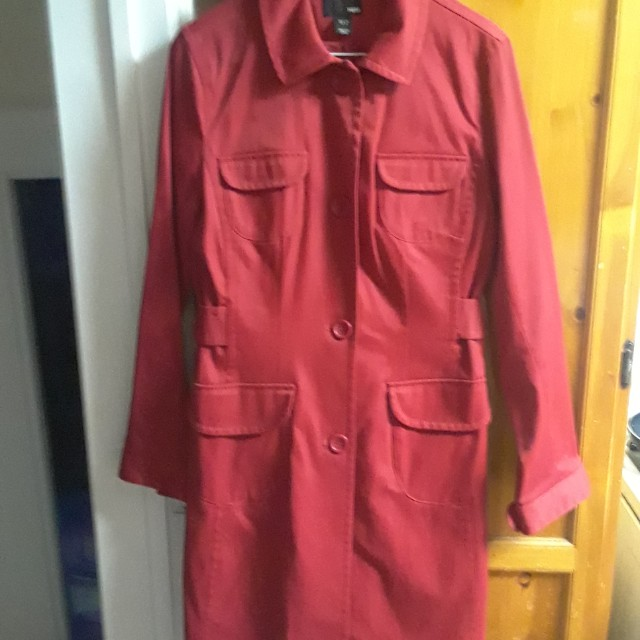 H & M Red Trench