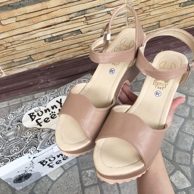 Heels bunny feet