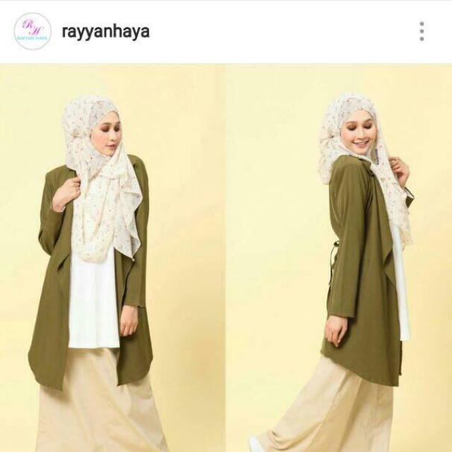 (inc Postage)Long Cardigan By Rayyanhaya