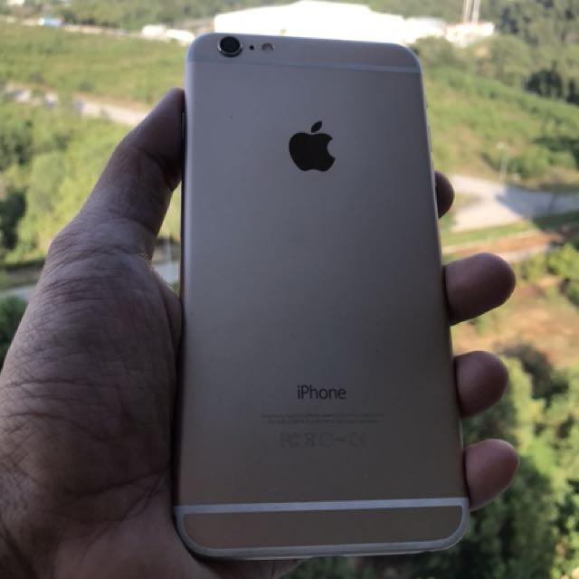 iphone 6plus MYSET Gold