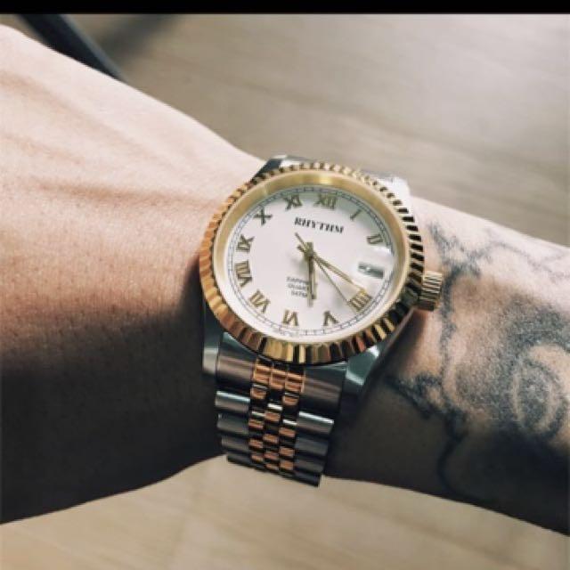 Jual jam tangan rhythm ( mirip rolex ) 472656ea96
