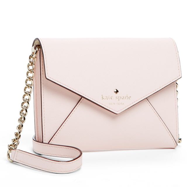 Kate Spate mini Envelope Crossbody bag Pink