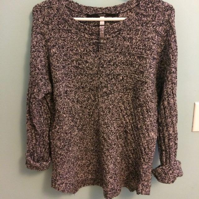 Kensie speckled sweater