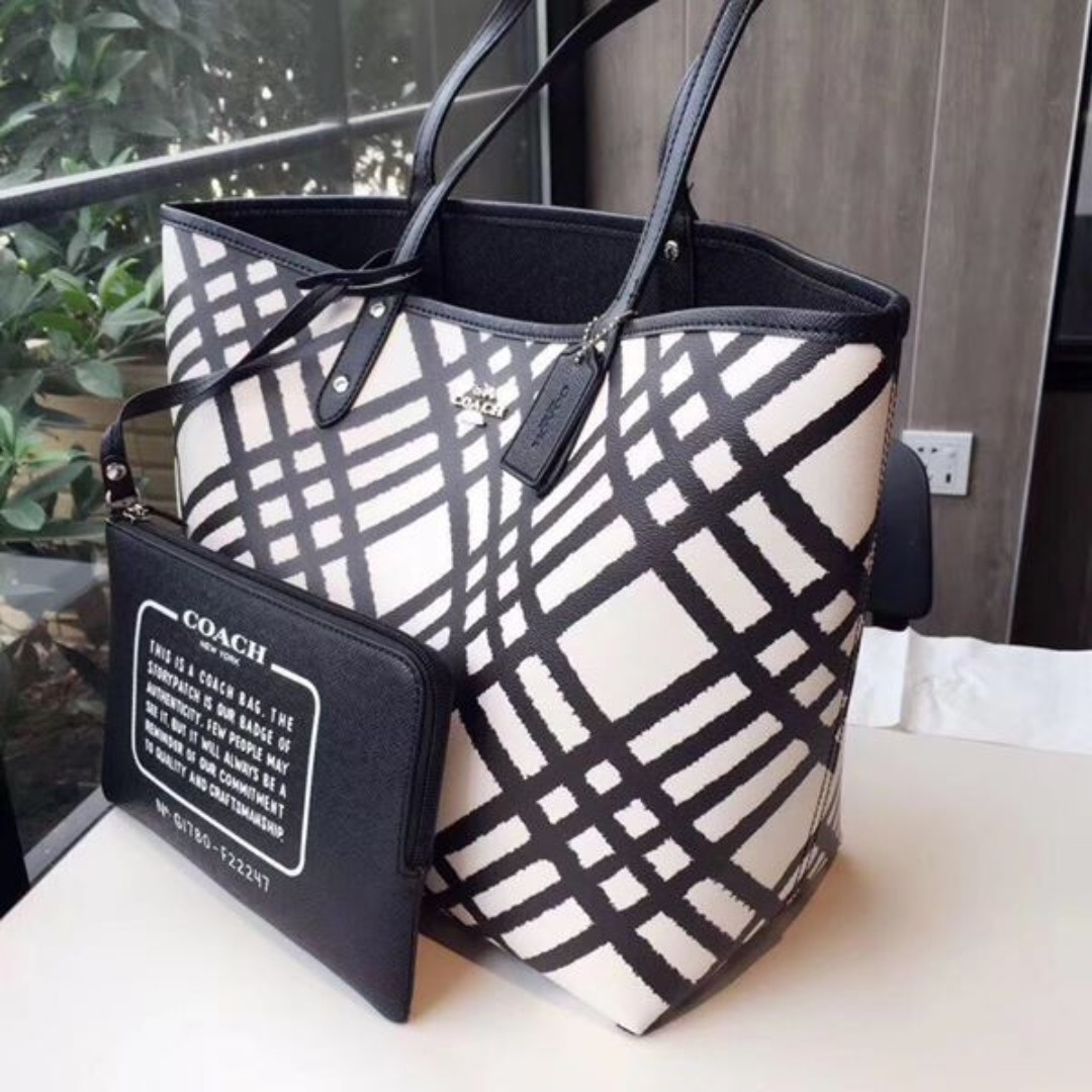 Korean 2in1 Coach Tote Bag(High Quality)