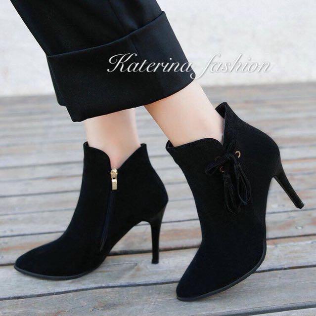 Korean high-cut shoes